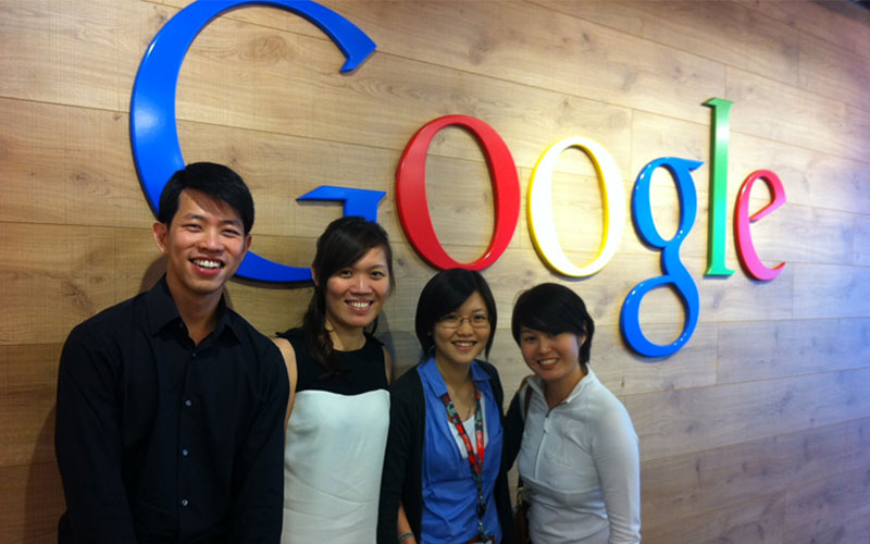 The iClickers @ Google office